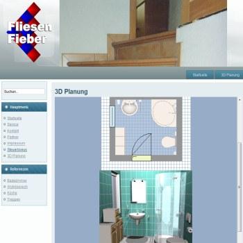3D Badplaner kostenlos Fliesen Fieber - badezimmer 3d planer kostenlos