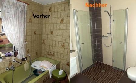 Ideen für die Sanierung im Bad Vorher - Nachher Bilder1 Fliesen - badezimmer sanieren