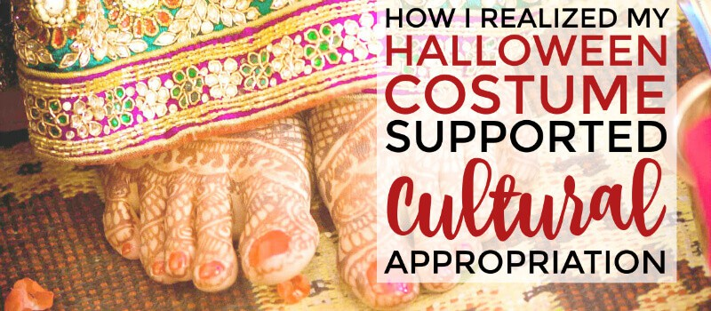 This is a really great, honest post! Such a good read on how Halloween costumes can support cultural appropriation if we aren't careful. The author is really candid about her mistake, and she explains her frustrations really well! Check it out!
