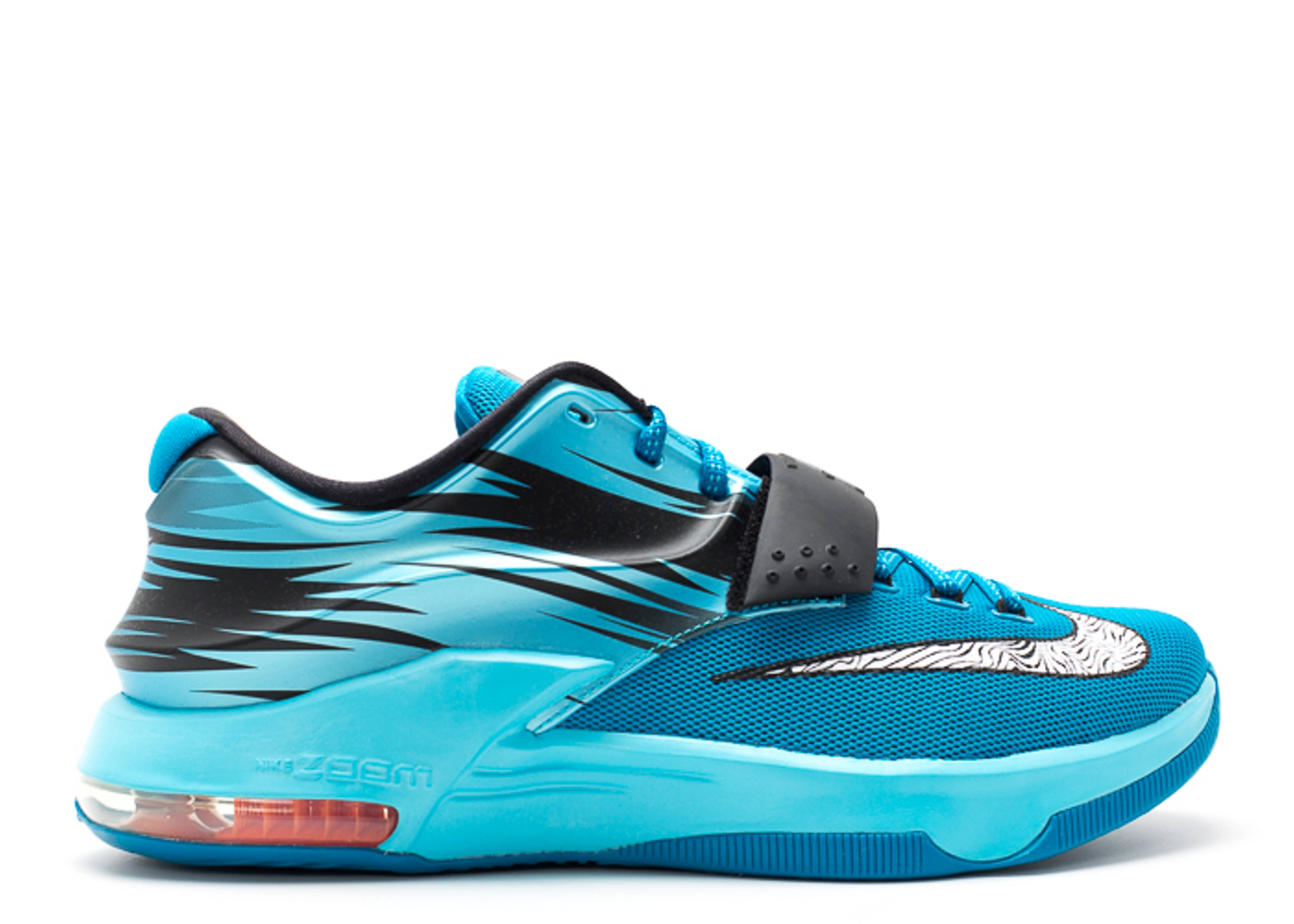 Kd 7 Quotclearwaterquot Nike 653996 414 Lt Bl Lcqr White