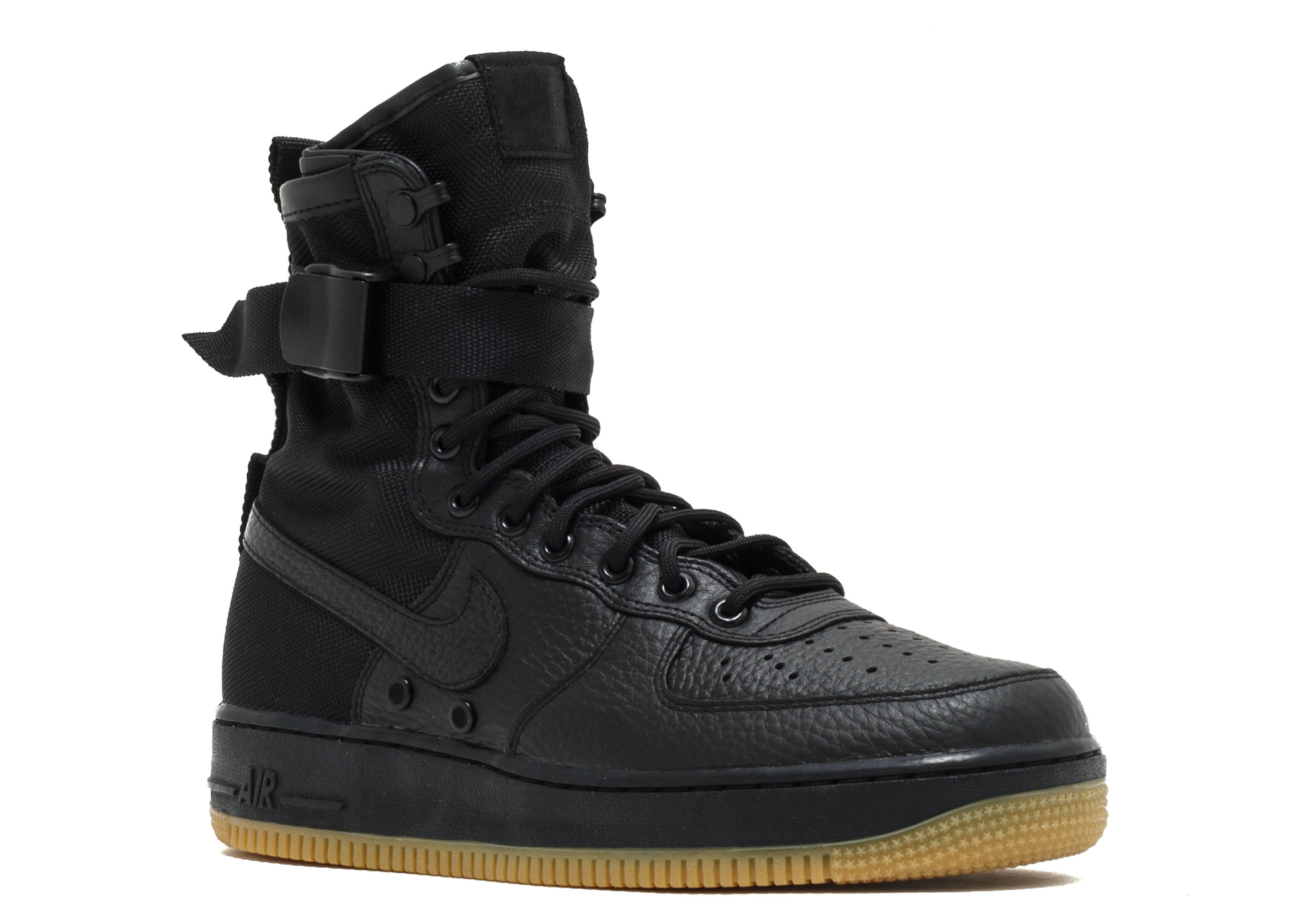 Sf Af1 Quotspecial Fieldquot Nike 864024 001 Black Black Black Black Flight Club