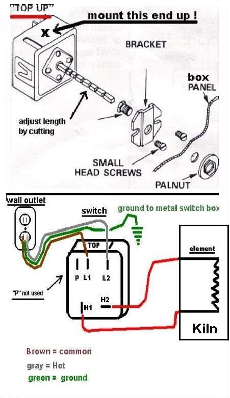 Kiln Controller Wiring Diagram 240v Contactor - 12xazcapecoral