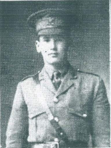 2nd Lt Frank Emlyn Williams1