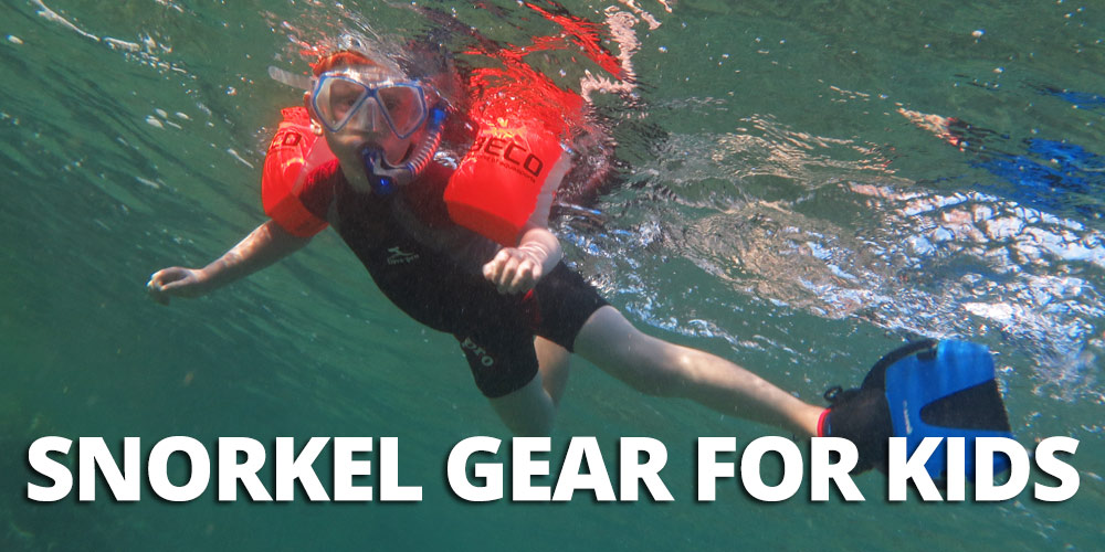 2019 guide for the best snorkel gear for kids