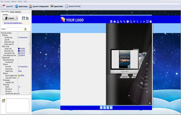 Create digital brochure with page flip software Mac - FlipPDF