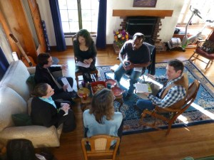 Another Living Room Conversation co-hosted by Joan Blades & Mark Meckler, a Tea Party leader