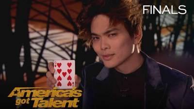 Shin Lim's Amazing Card Magic - America's Got Talent 2018 Finals