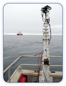 Research Mast on Boat