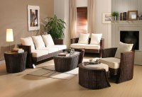 Rattan living room design ideas | Home Designs Project
