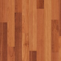 Solid wood parquet flooring from the exotic kempas wood