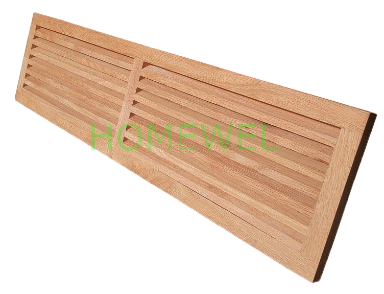 Red Oak Cold Air Return Vent Can Be Made Into Different