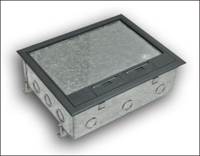 Pmc50 Concrete Floor Box Manufactured By Floor Box Systemstm