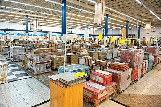 Tile Distributor