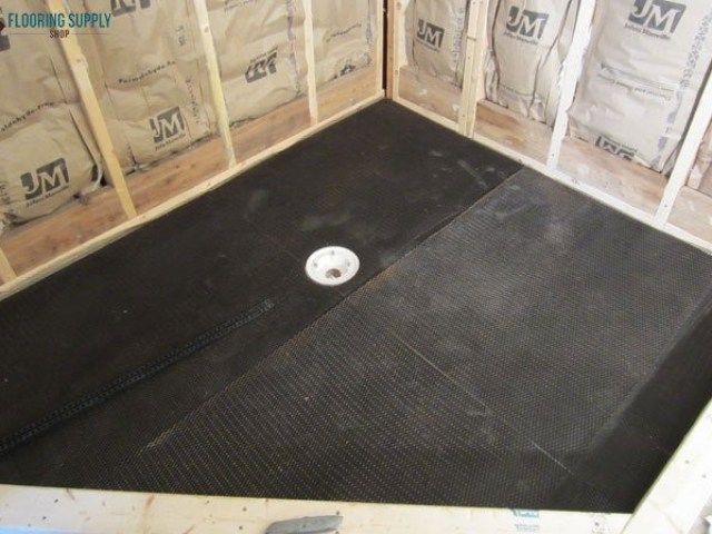 Quick Pitch Shower Pan Installation
