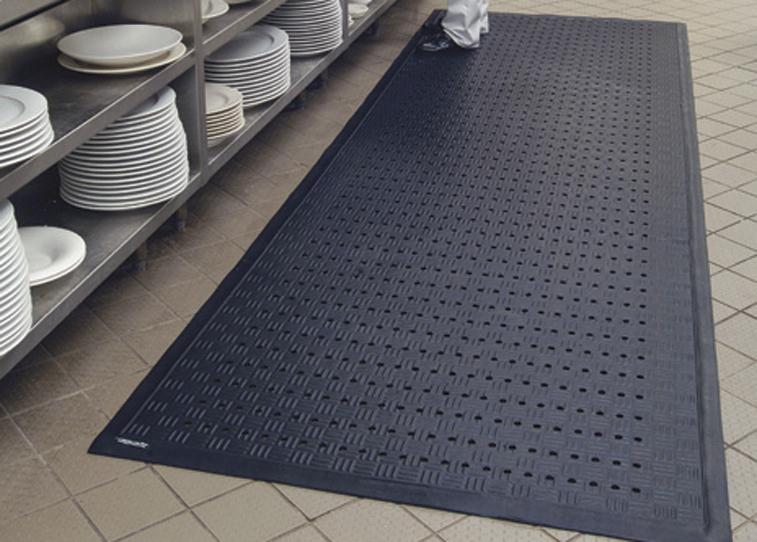 Cushion Station Drainage Anti Fatigue Mat Floormatshop