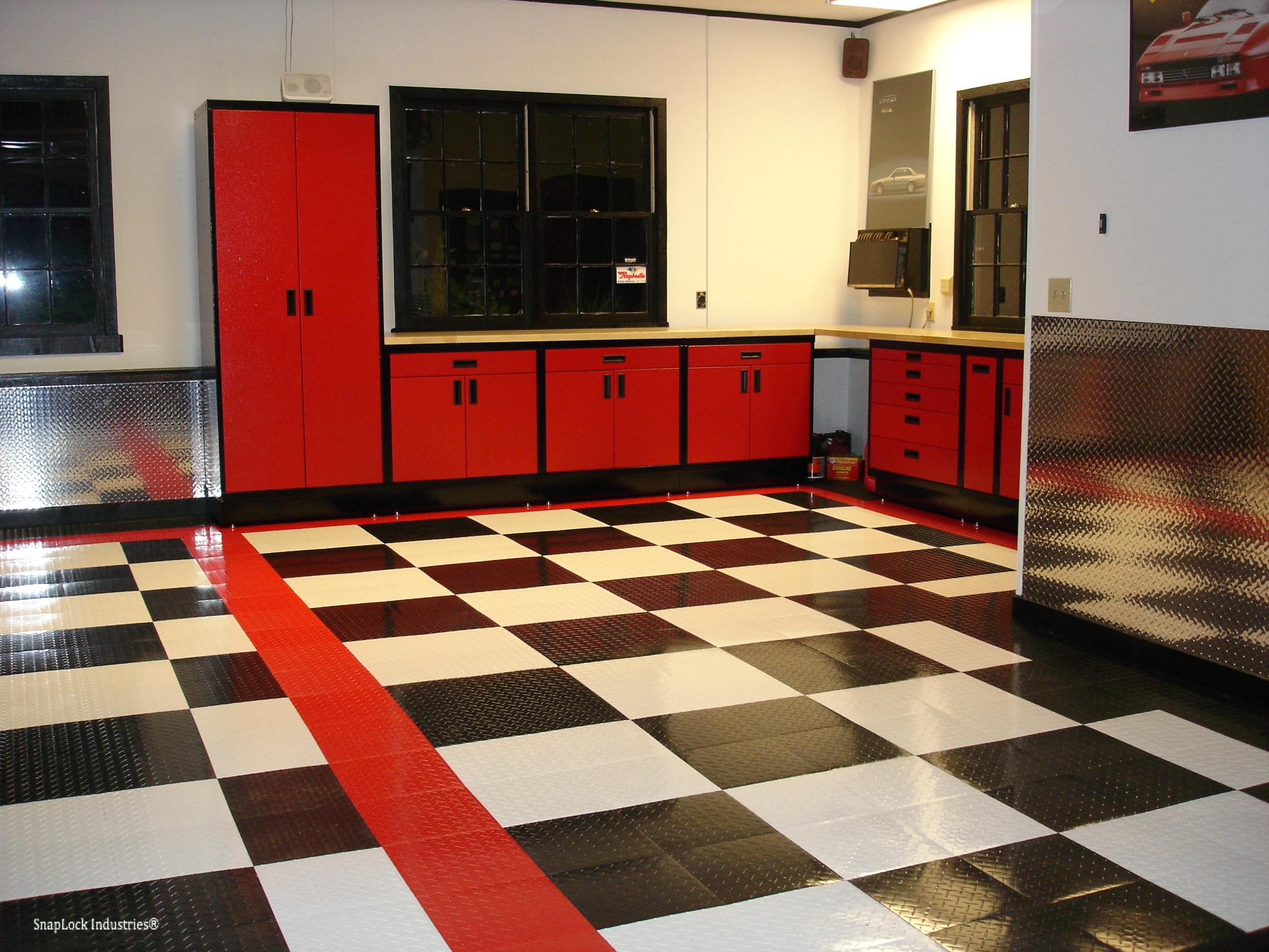 Harley color carpet tiles - Racedeck Tuffshield Interlocking Garage Tile Floor Mat Garage Tiles Racedeck Tuffshield Interlocking Garage Tile Mat