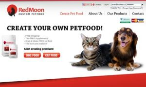 RedMoon PetFood Home Page