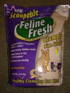 Scoopable Feline Fresh