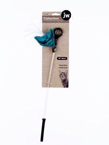 """Cataction 20"""" Wand With Canvas Angel Fish"""