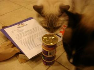 Arrival of Wellness Cubed Sliced and Minced Grain Free Canned Cat Food