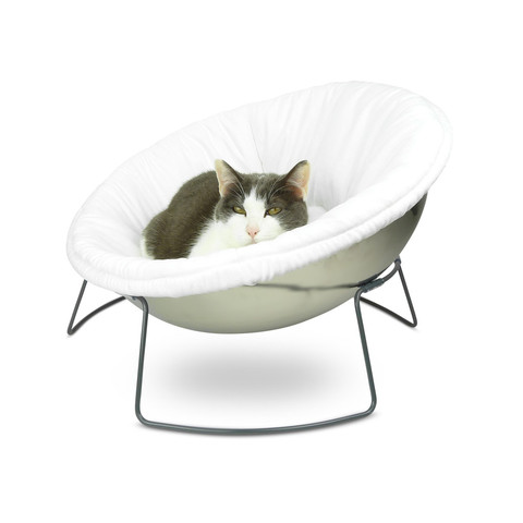 Hepper Satellite Lounge White