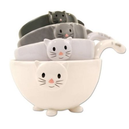 Cat Kitten Measuring Cups