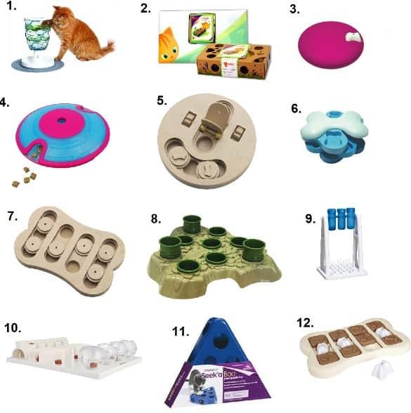 Cat Toy Puzzle Box Amazon