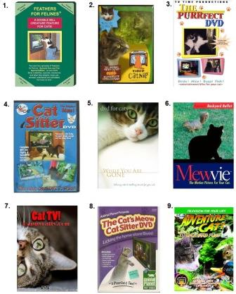Videos for Cats DVDs for Cats