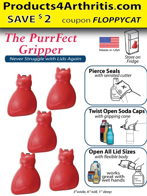 PurrFect Gripper FloppyCat coupon save $2