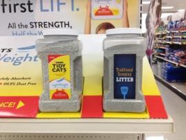 Tidy Cats Lightweight Cat Litter at Target - Display