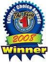 No. 1 Editor's Choice Awards 2008
