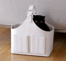 Elegant Cat Carrier by Ree-Yong