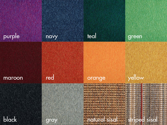 Moderncats' Stow Color Schemes