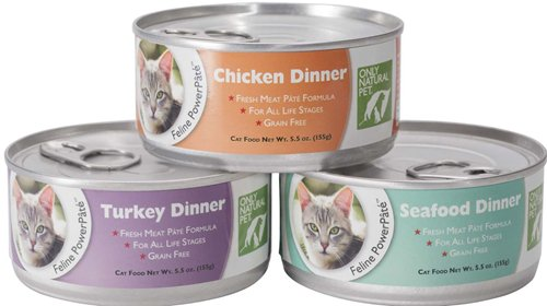 Only Natural Pet Brand Canned Cat Food Giveaway