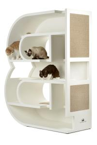 KletterLetter Alphabet Letter Cat Tree Furniture