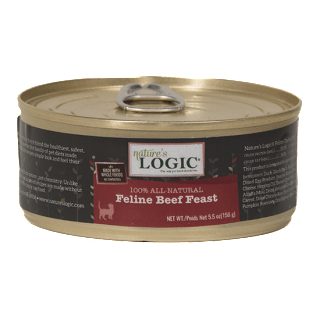 Nature's Logic Beef Canned Cat Food Product Review