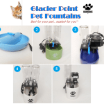Glacier Point Fountains For Cats – Fountains Available