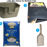 Litter Box Setup for Multiple Cats – Floppycats Version