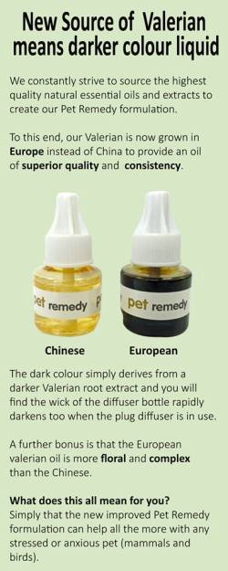 Pet Remedy Diffuser Oil Darker Oil Color