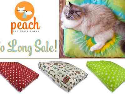 Peach Pet Provisions So Long Sale!
