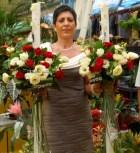 lumanari nunta arad trandafiri crem