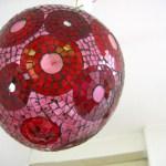 Lampe Mosaïque flore Molinaro
