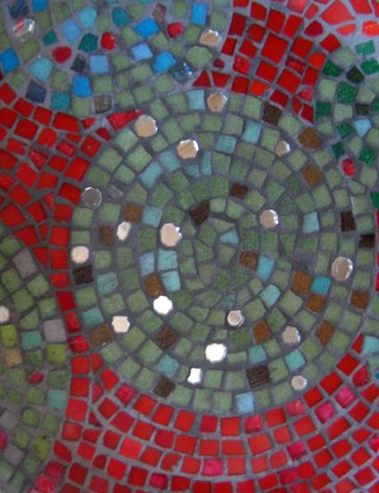 Décor Mosaïque en verre flore molinaro