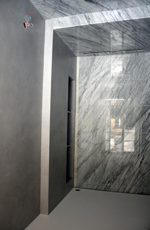 Murs en béton ciré Flore Molinaroprojet Kris Van Assche pour Dior Home