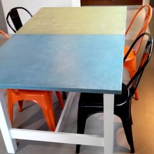 Table Marius Aurenti réalisation Flore Molinaro