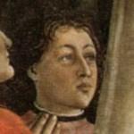 Amerigo Vespucci painted by Ghirlandaio