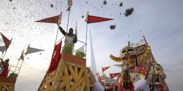 Carnival in Viareggio (by Marco via Flickr)