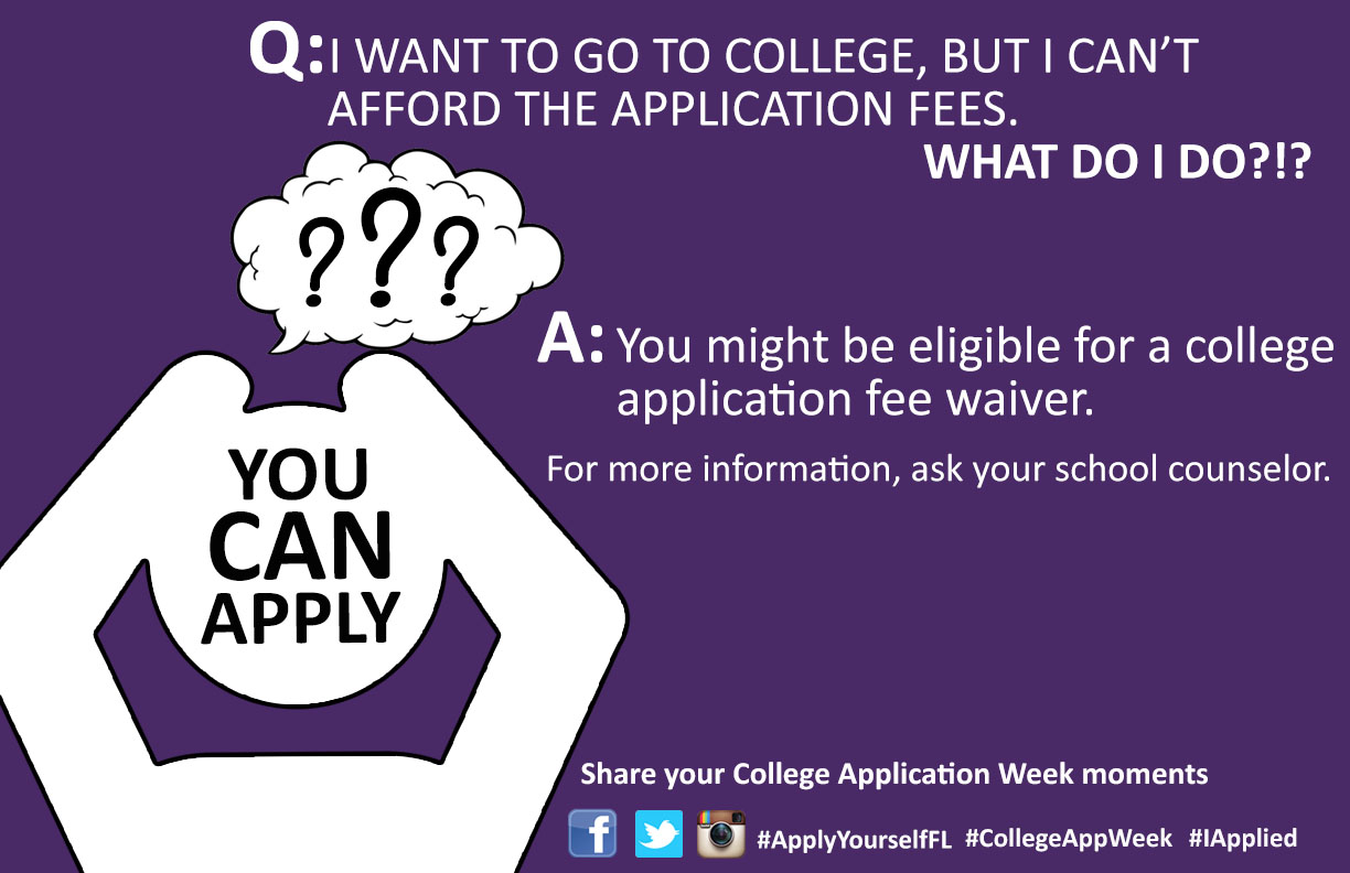Fee Waiver Eligibility Requirements 2017 2018 Act About Apply Yourself Florida Florida College Access Network