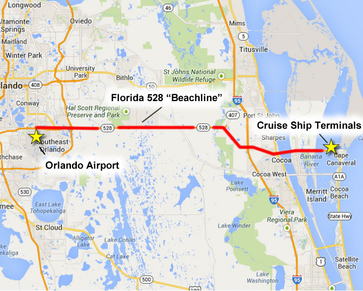 navigating port canaveral finding the port your ship and your