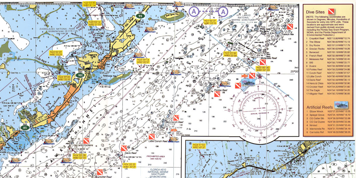 Learn To Read Nautical Charts